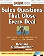 Sales Questions That Close Every Deal: 1000…