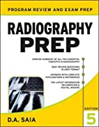 Radiography PREP, Program Review and…