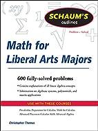Schaum's Outline of Mathematics for…