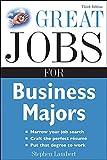 Lambert, Stephen: Great Jobs for Business Majors (Great Jobs for ... Majors)