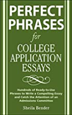 Perfect phrases for college application…