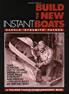 Build the New Instant Boats by Harold H.…