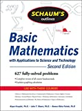 Kruglak, Haym: Schaum's Outline of Basic Mathematics with Applications to Science and Technology, 2ed (Schaum's Outline Series)