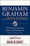 Graham, Benjamin: Benjamin Graham on Investing: Enduring Lessons from the Father of Value Investing