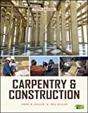 Miller, Mark: Carpentry & Construction, Fifth Edition (Carpentry & Construction)