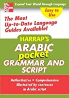 Harrap's Pocket Arabic Grammar and Script by…