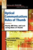 Miller, John: Optical Communications Rules of Thumb