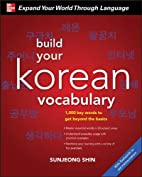 Build Your Korean Vocabulary with Audio CD…