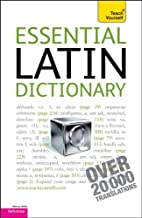Essential Latin Dictionary: A Teach Yourself…