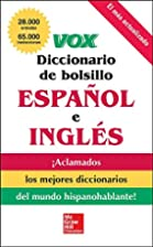 VOX Diccionario de bolsillo español y…