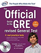The Official Guide to the GRE revised…