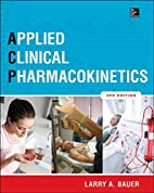 Applied Clinical Pharmacokinetics 3/E by…