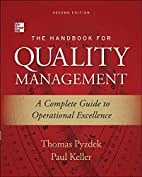 The handbook for quality management : a…