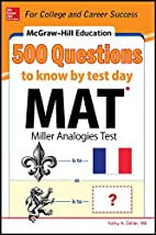 500 MAT questions to know by test day by…