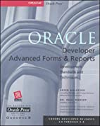 Oracle Developer Advanced Forms and Reports…