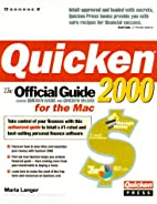 Quicken 2000 for the Mac: The Official Guide…