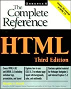 HTML: The Complete Reference by Thomas A.…