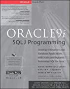 Oracle9i SQLJ Programming by Nirva…