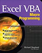 Excel VBA Macro Programming by Richard…