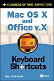 Hart-Davis, Guy: Mac OS X and Office v.X Keyboard Shortcuts
