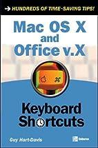 Mac OS X and Office v.X Keyboard Shortcuts…