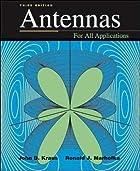 Antennas by John D. Kraus