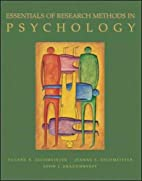 Essentials of Research Methods in Psychology…