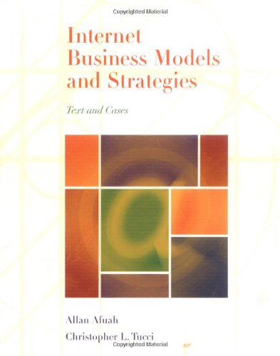 internet-business-models-and-strategies-text-and-cases