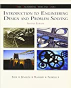 Introduction To Engineering Design and…