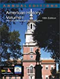 Maddox, Robert James: American History: Pre-Colonial Through Reconstruction
