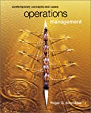 Schroeder, Roger G.: Operations Management: Contemporary Concepts and Cases