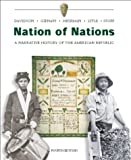 Davidson, James West: Nation of Nations w/ Interactive E-Source CD ROM;  MP: A Narrative History of the American Republic