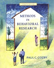 Methods in Behavioral Research with PowerWeb…