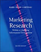 Marketing Research: Within a Changing…