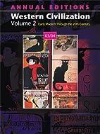Annual Editions: Western Civilization,…