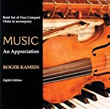 Kamien, Roger: 4 CD Brief set for use with Music: An Appreciation