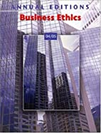 Annual Editions: Business Ethics 04/05…