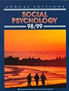 Annual Edition Social Psycology by Mark…
