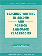 Teaching Writing in Second and Foreign…