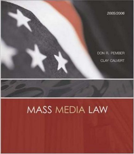 mass-media-law-2005-2006-edition-with-powerweb-and-free-student-cd-rom