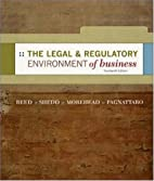 The Legal and Regulatory Environment of…