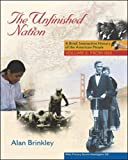 Brinkley, Alan: The Unfinished Nation: Brief, Interactive With Primary Source Investigator And Powerweb