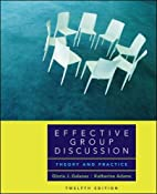 Effective Group Discussion: Theory and…
