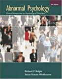 Halgin, Richard P: Abnormal Psychology with MindMap II CD-ROM and PowerWeb