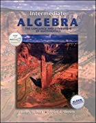 Intermediate algebra by James Hall