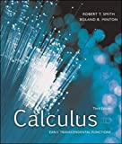 Smith, Robert: Calculus: Early Transcendental Functions