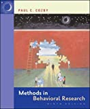 Cozby, Paul C.: Methods in Behavioral Research