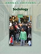 Annual Editions: Sociology 08/09 (Annual…