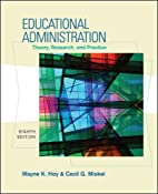 Educational Administration: Theory,…