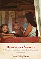 Window on Humanity: A Concise Introduction…